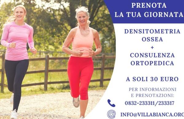 Osteoporosi: il 20 ottobre tariffa speciale per densitometria e visita
