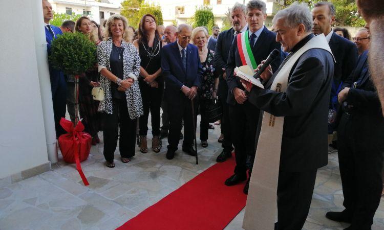 Taglio del nastro per la RSA San Domenico e il Poliambulatorio Villa Bianca